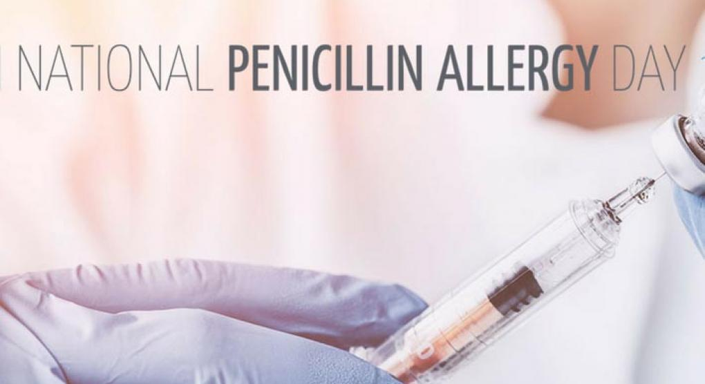 National Penicillin Allergy Day on September 28th