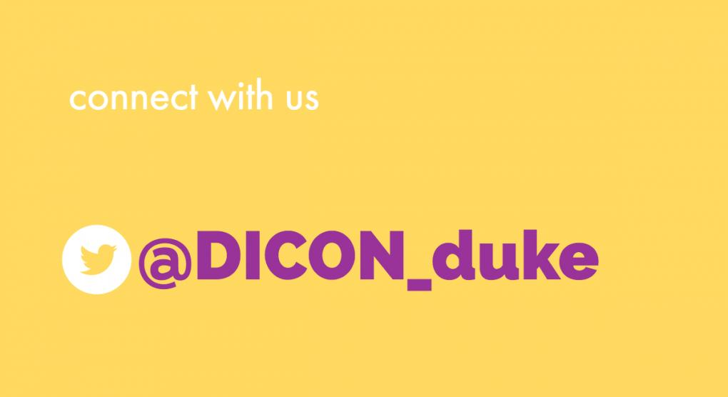 DICON is now on Twitter!